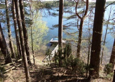 Dom nad jeziorem Zelwa