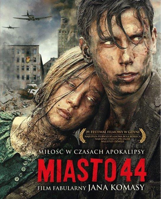 """Zapraszamy na projekcję plenerową filmu """"Miasto 44"""""""