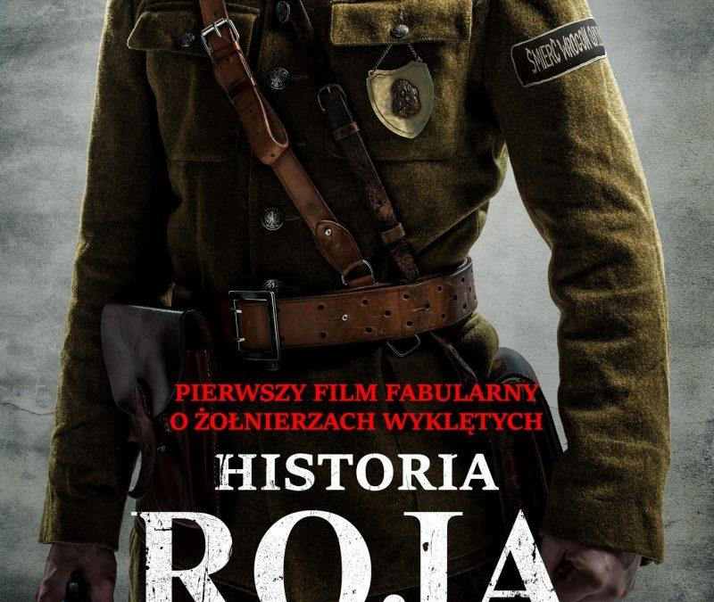 """Zapraszamy na projekcję plenerową filmu """"Historia Roja"""" Wigry 31.07.2021r"""