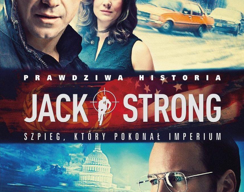 """Zapraszamy na projekcję plenerową filmu """"Jack Strong"""" Wigry 24.07.2021r"""